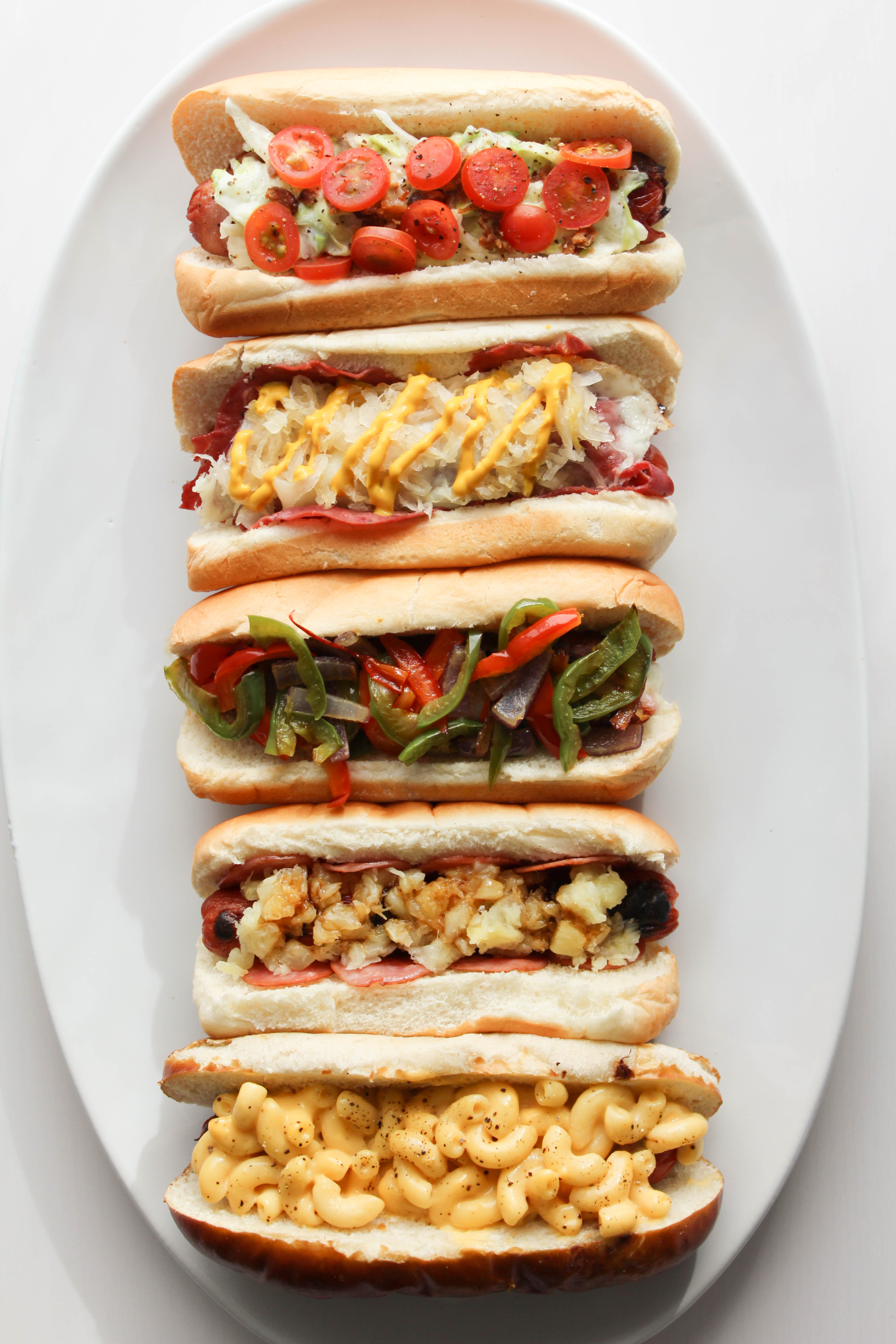 Traditional Hot Dog Toppings