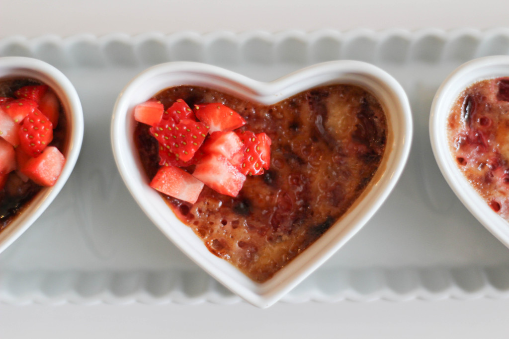 Strawberry Cream Creme Brulee-13