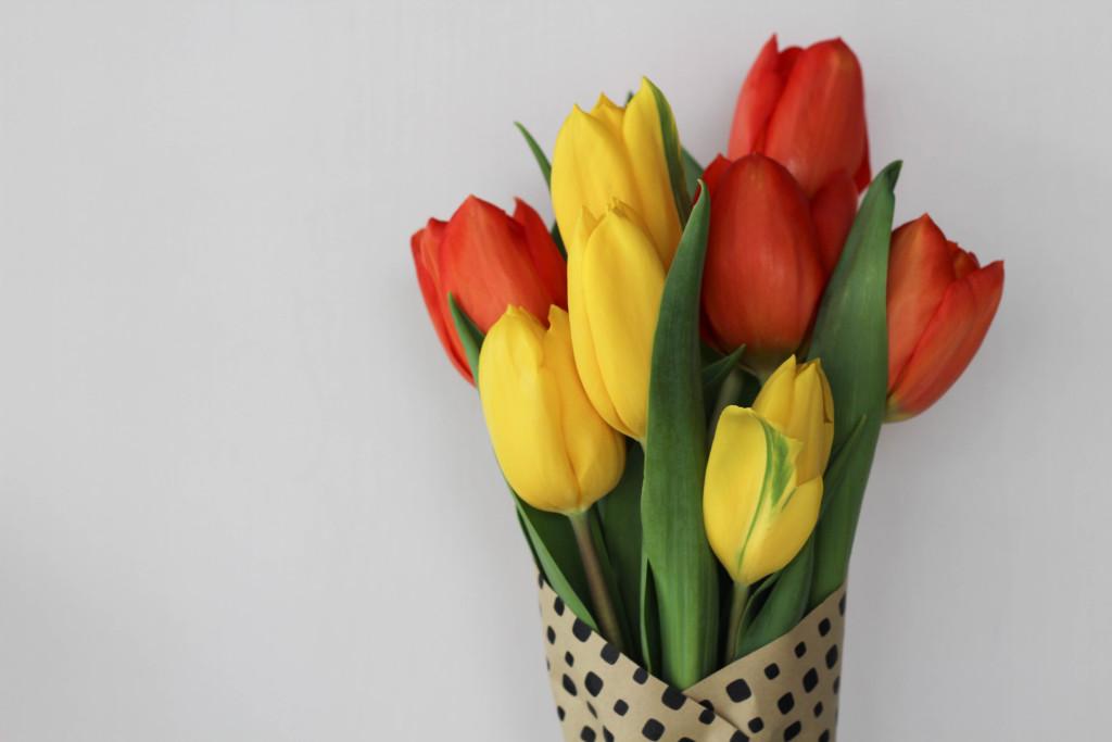 DIY Floral Wrap