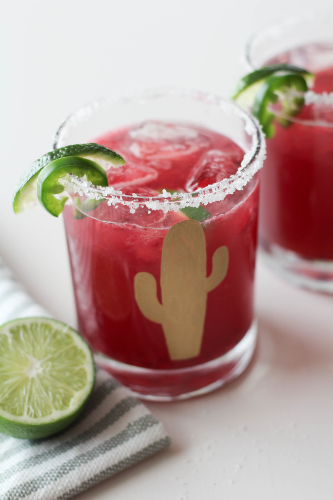 Blackberry Jalapeño Margarita Recipe