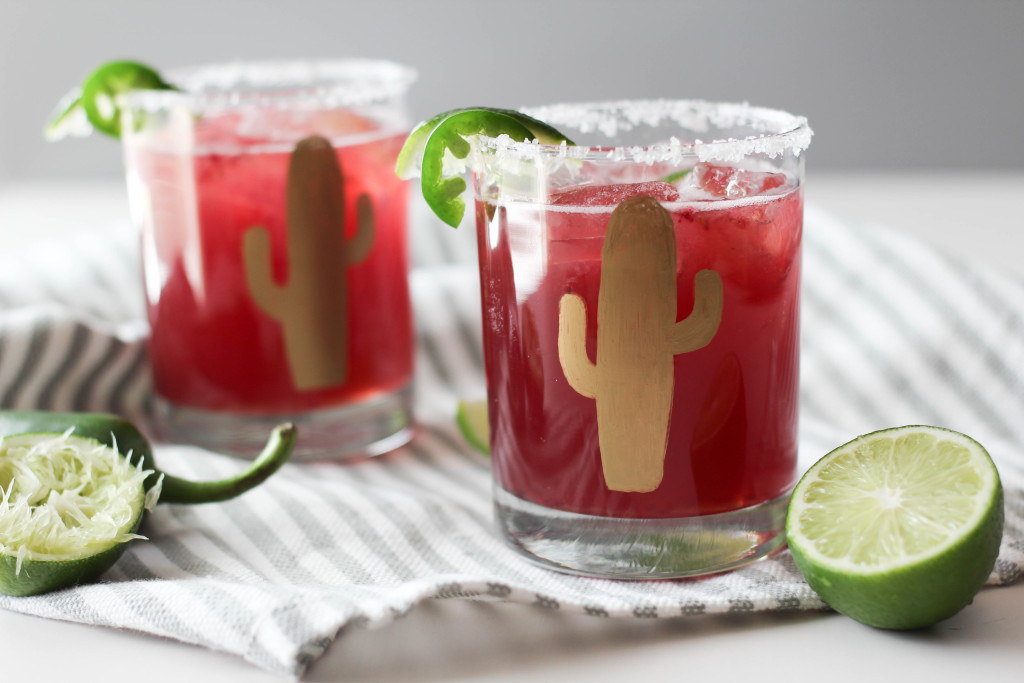 Blackberry Jalapeno Margarita Recipe