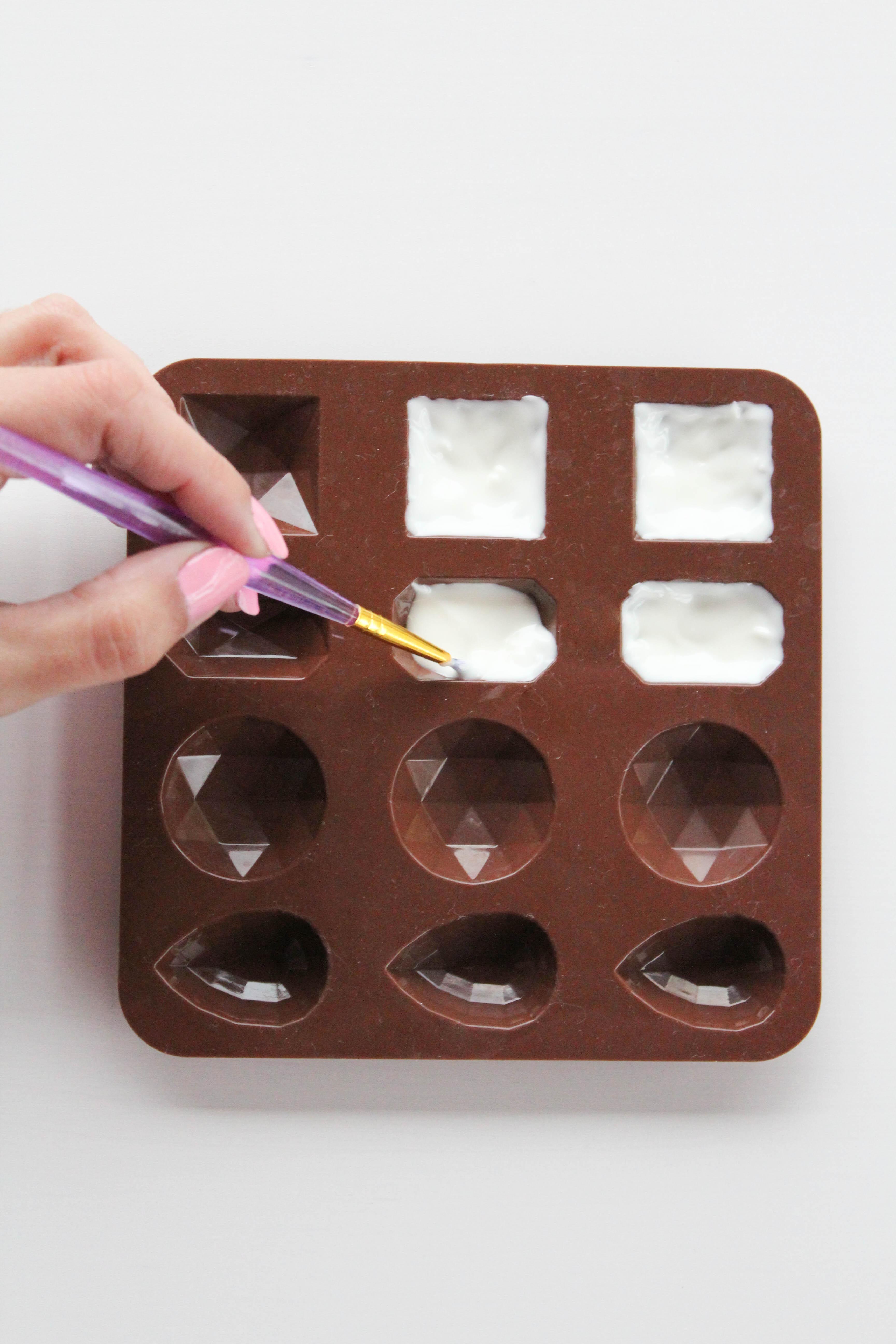 DIY Chocolate Gems - Let's Mingle Blog