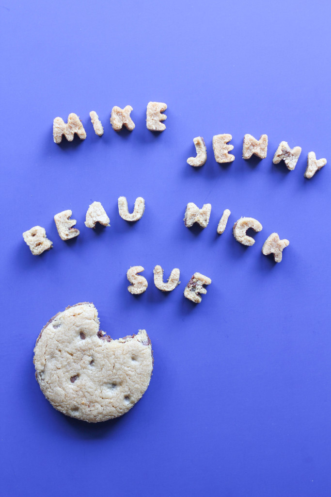 Chocolate Chip Cookie Place Cards