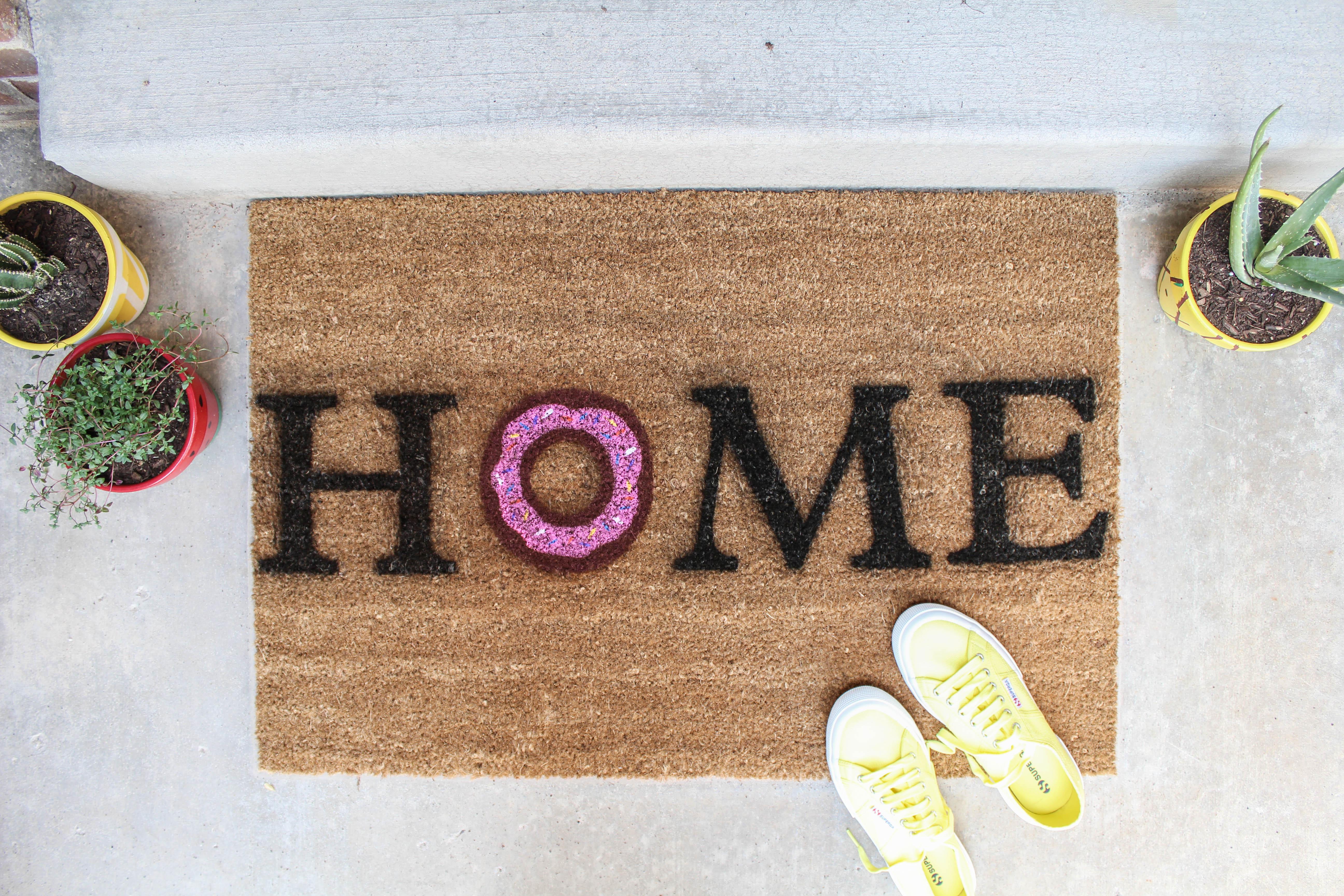 product mat good doormat mats welcome language doormats sign sweet door asl cute eco american friendly damn