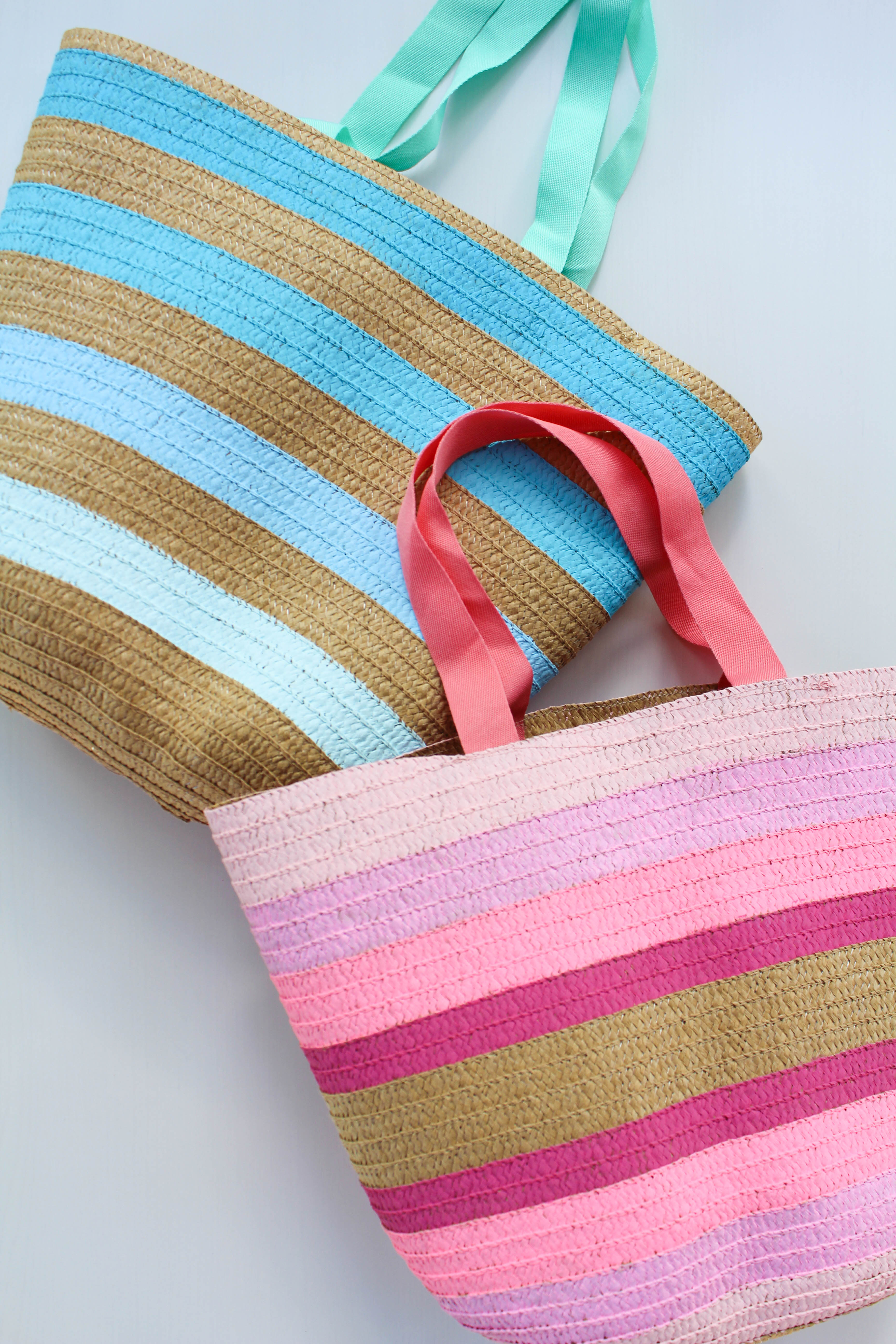 DIY Ombre Tote Bag - Let's Mingle Blog