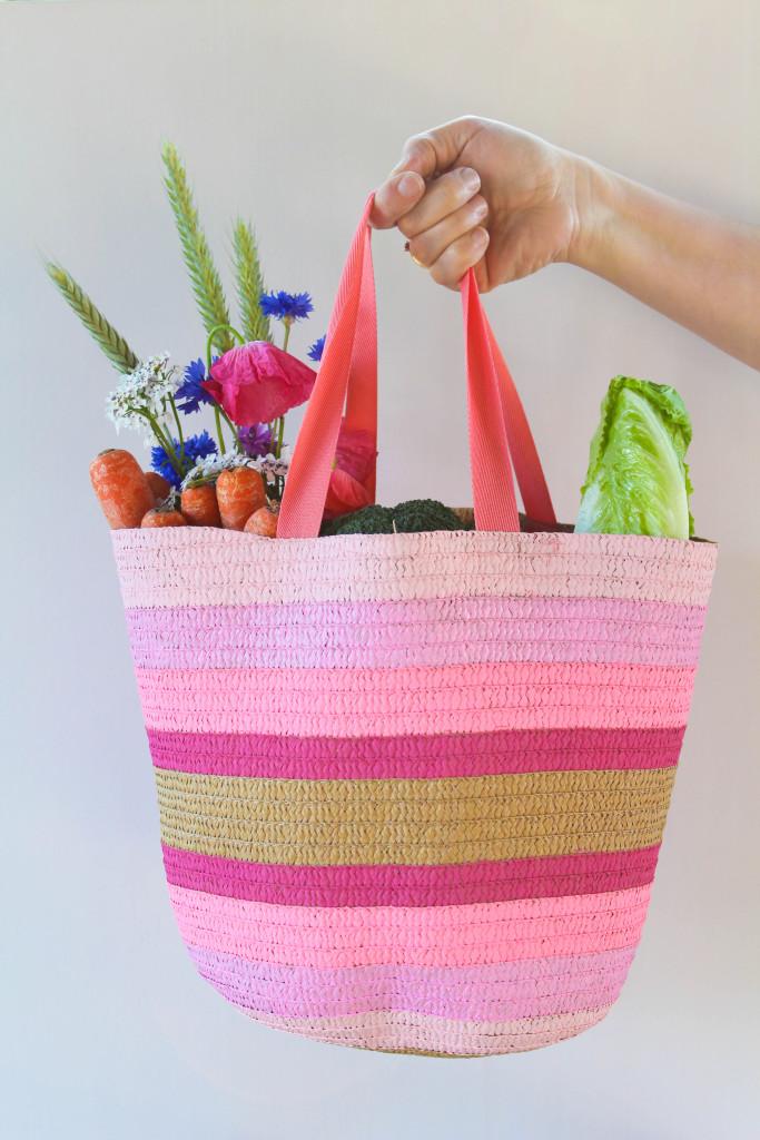 DIY Ombre Tote Bags