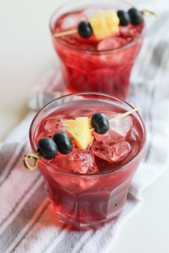 Blueberry Kona Pop Iced Tea Recipe