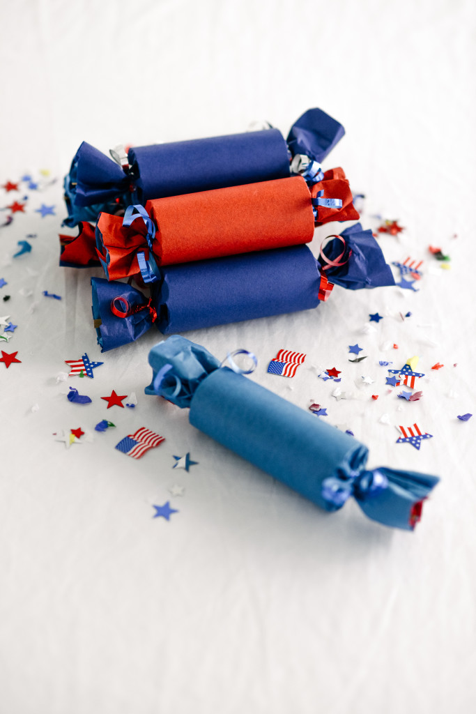 DIY Fourth of July Poppers