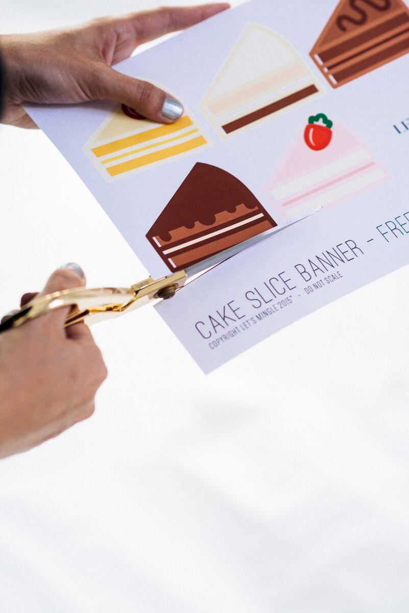 photo regarding Cake Banner Printable known as Mini Cake Banner Printable - Permits Mingle Web site