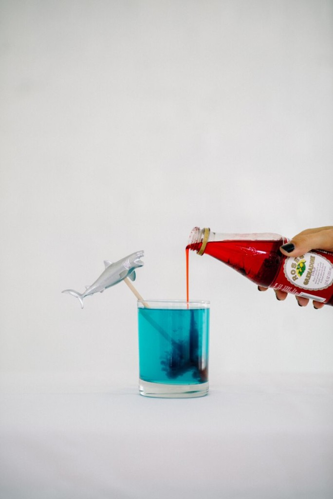"Shark Week Cocktail: ""Blood in the Water"""