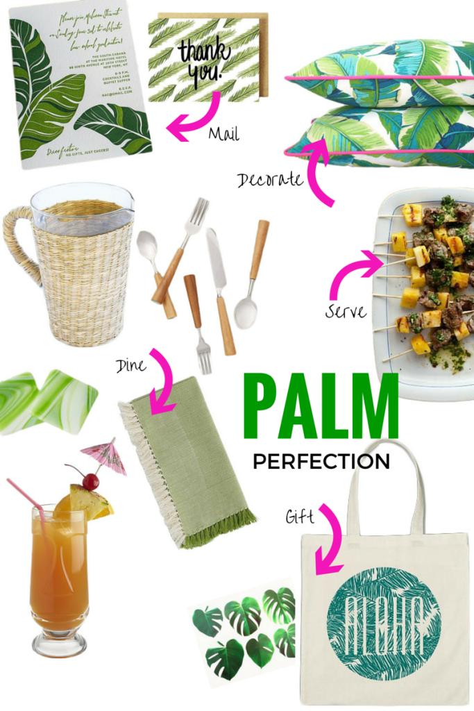 Palm Print Party