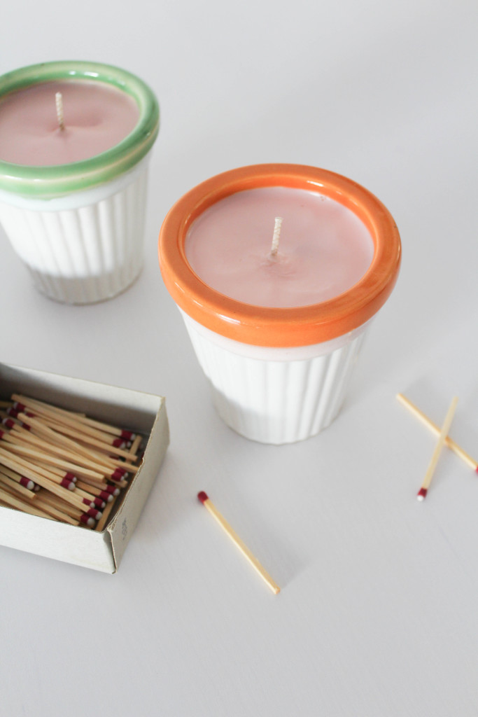 DIY Citronella Candles