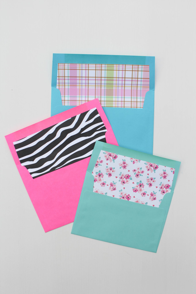 Diy Envelope Liners  LetS Mingle Blog