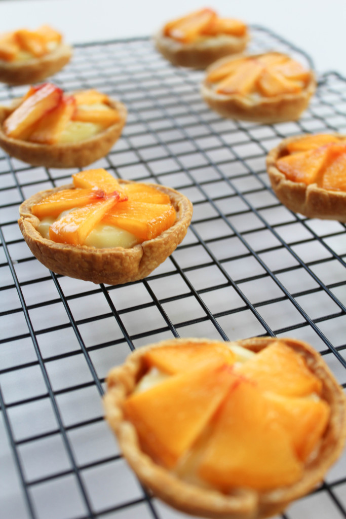 Peaches and Cream Tarts