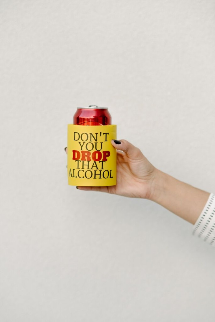 DIY Beyonce Drink Koozies
