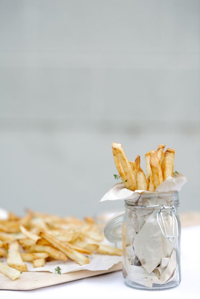Salt and Vinegar French Fries