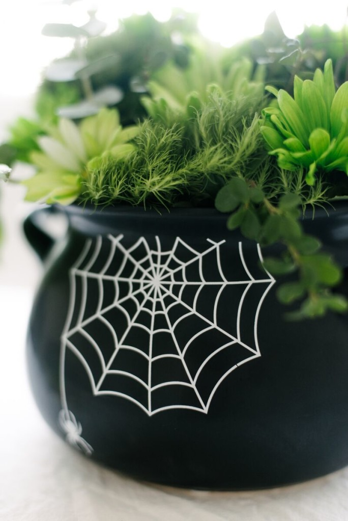 Halloween Floral Arrangement