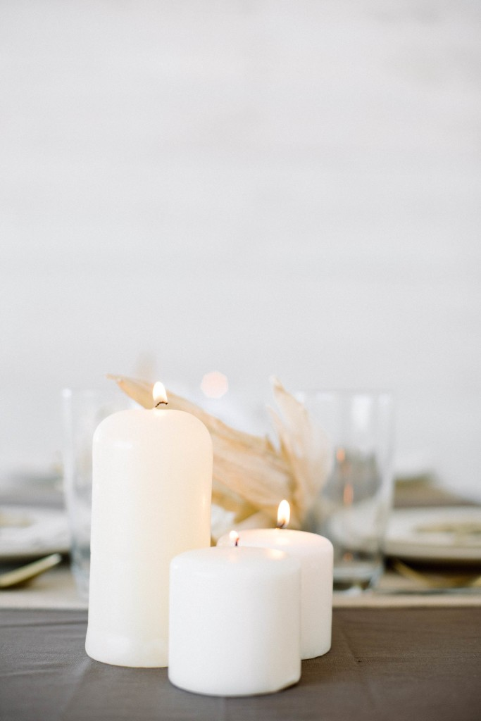 Gold Thanksgiving Tablescape
