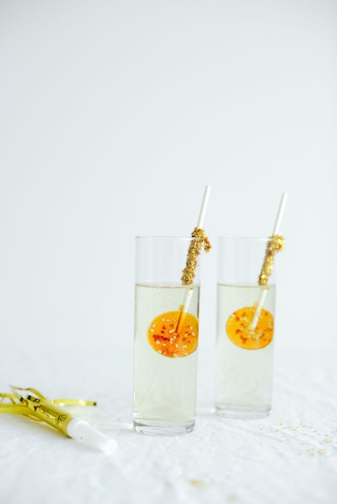 Champagne Lollipops