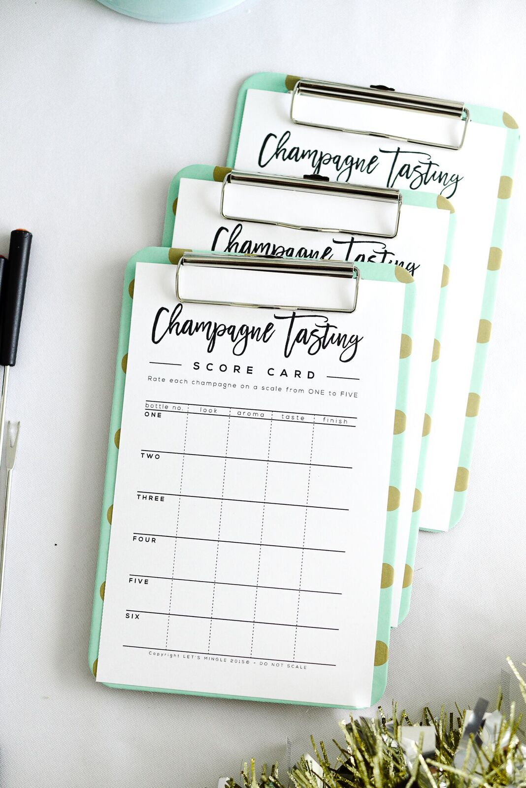 Champagne Tasting Party Printables Let S Mingle Blog