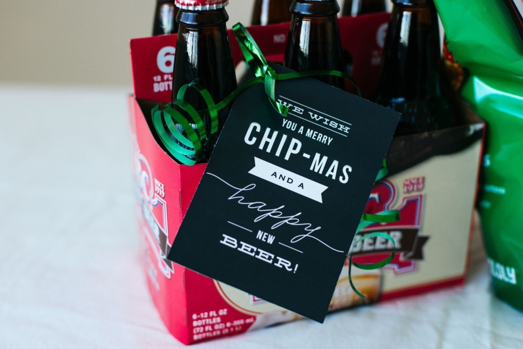 Neighbor Gift Idea: Chips and Beer