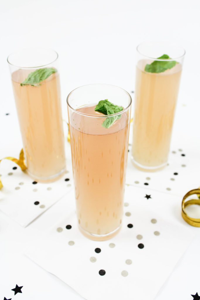 Champagne Mojito Cocktail Recipe