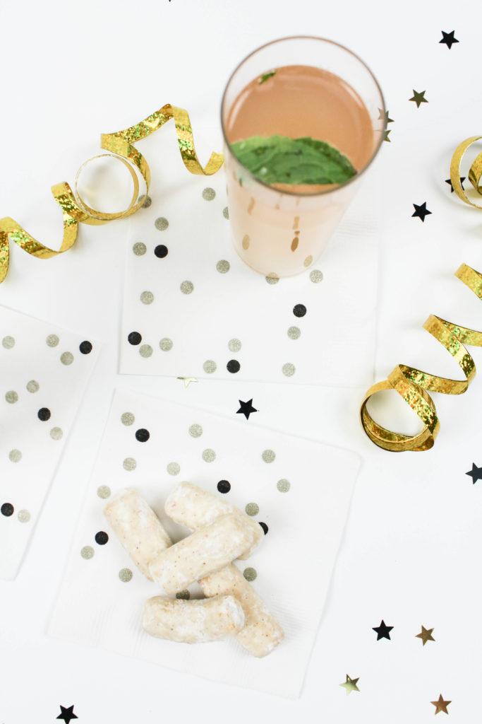 DIY Confetti Napkins