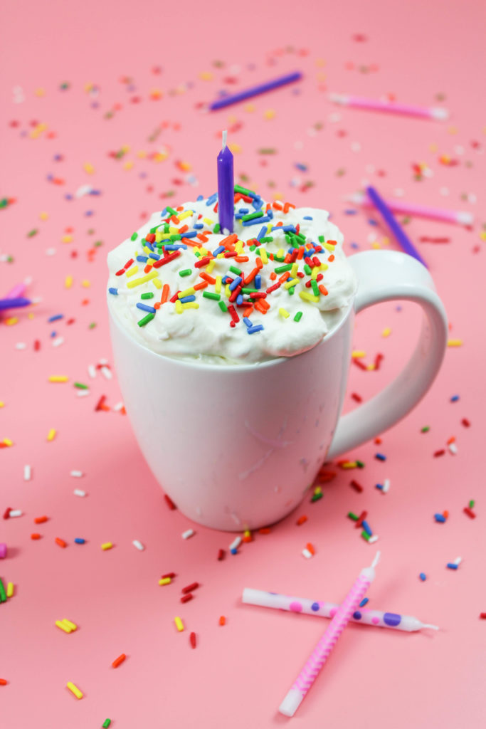 Birthday Cake Hot Chocolate