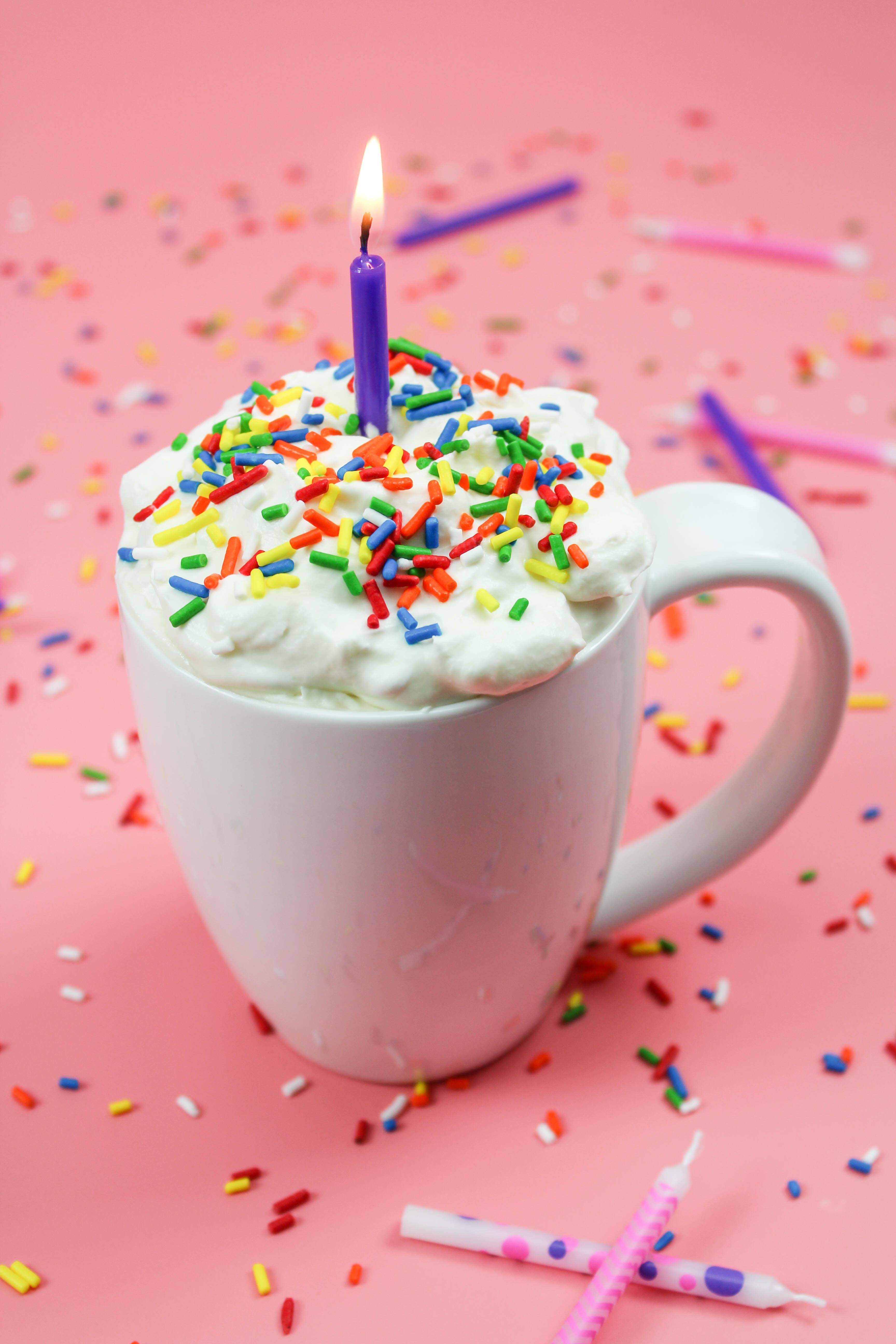 Birthday Cake Hot Chocolate Recipe Lets Mingle Blog