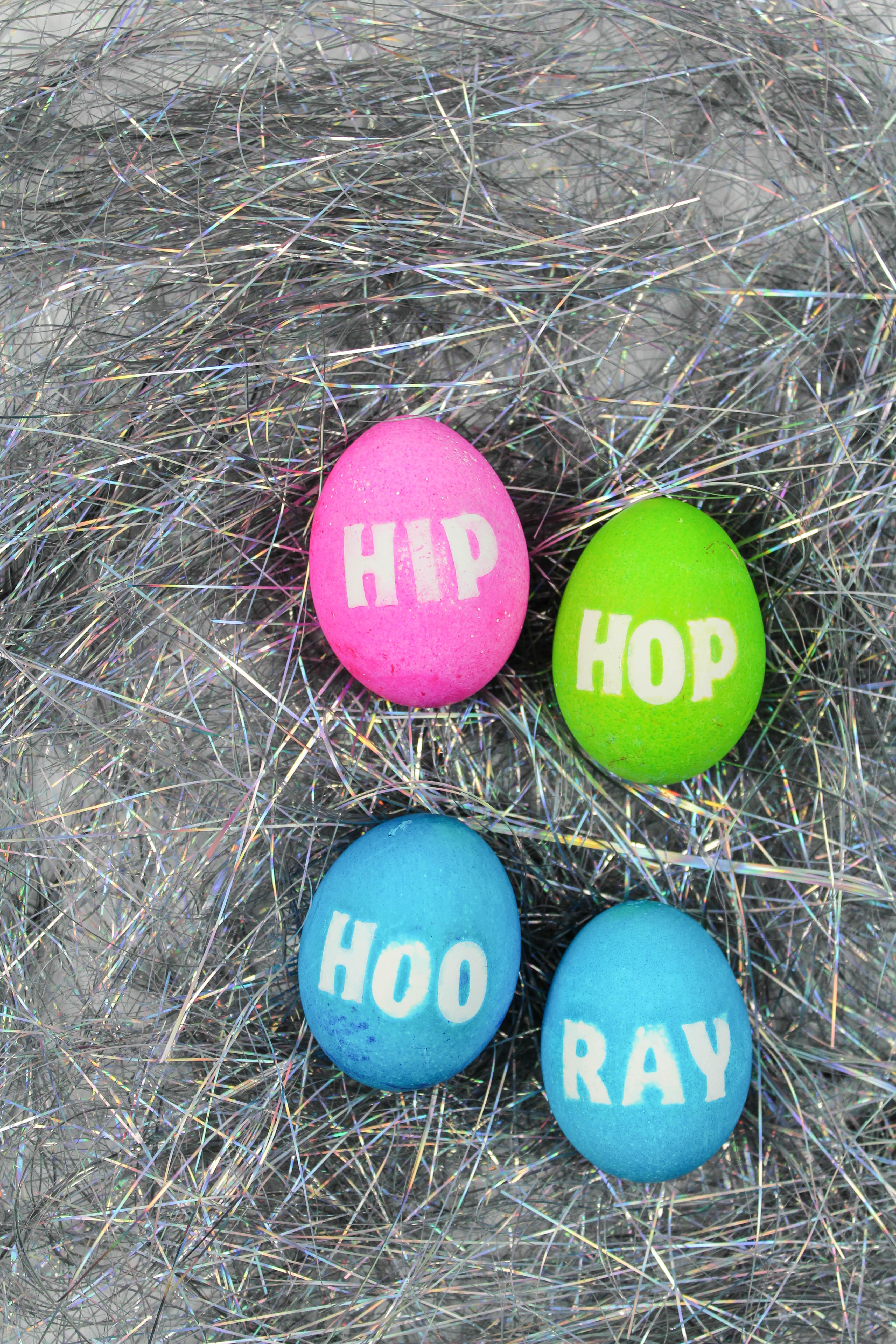 Old School Hip Hop Easter Eggs - Let's Mingle Blog
