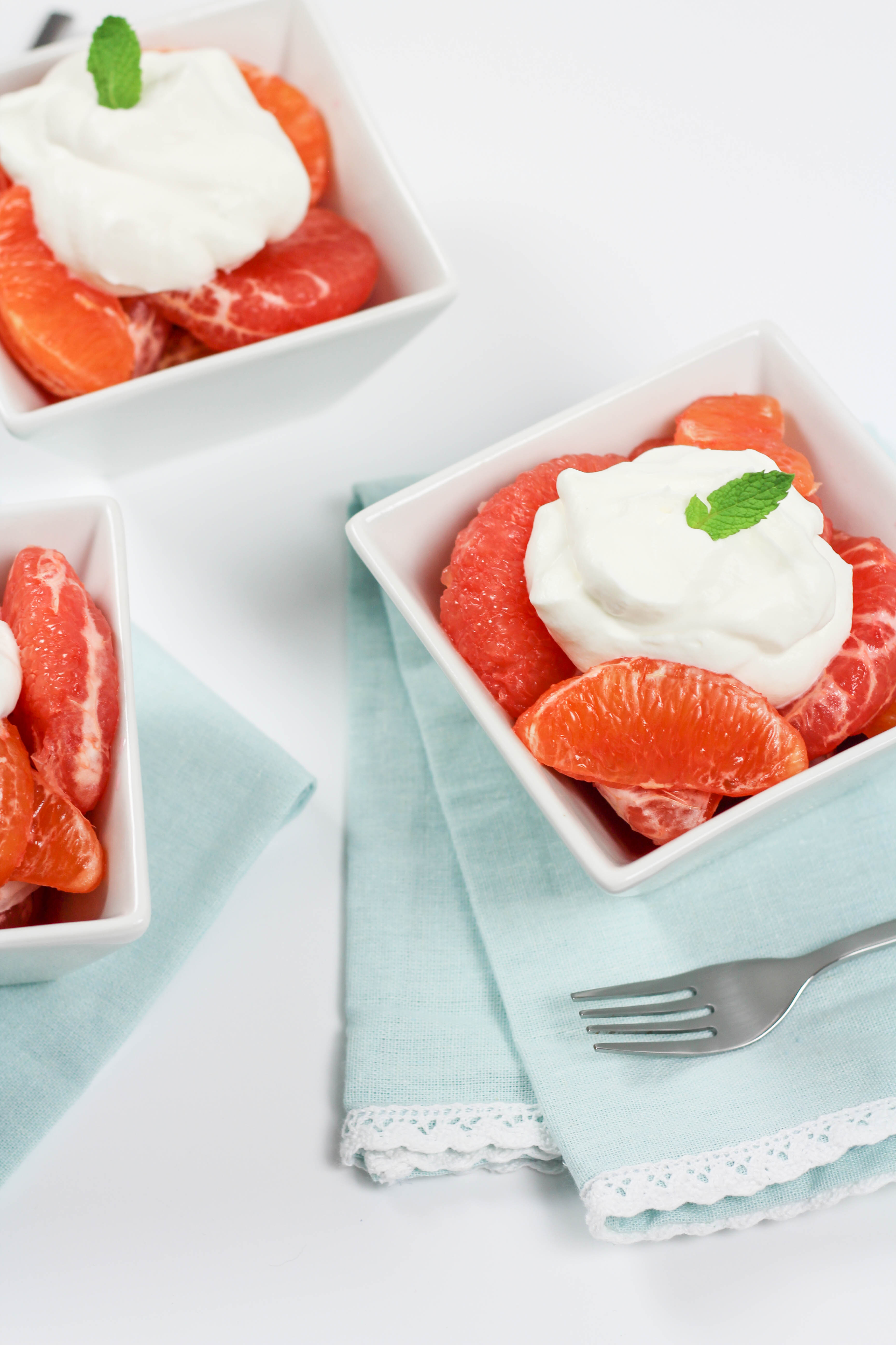 Grapefruit-Campari Granita With Vanilla Whipped Cream ...