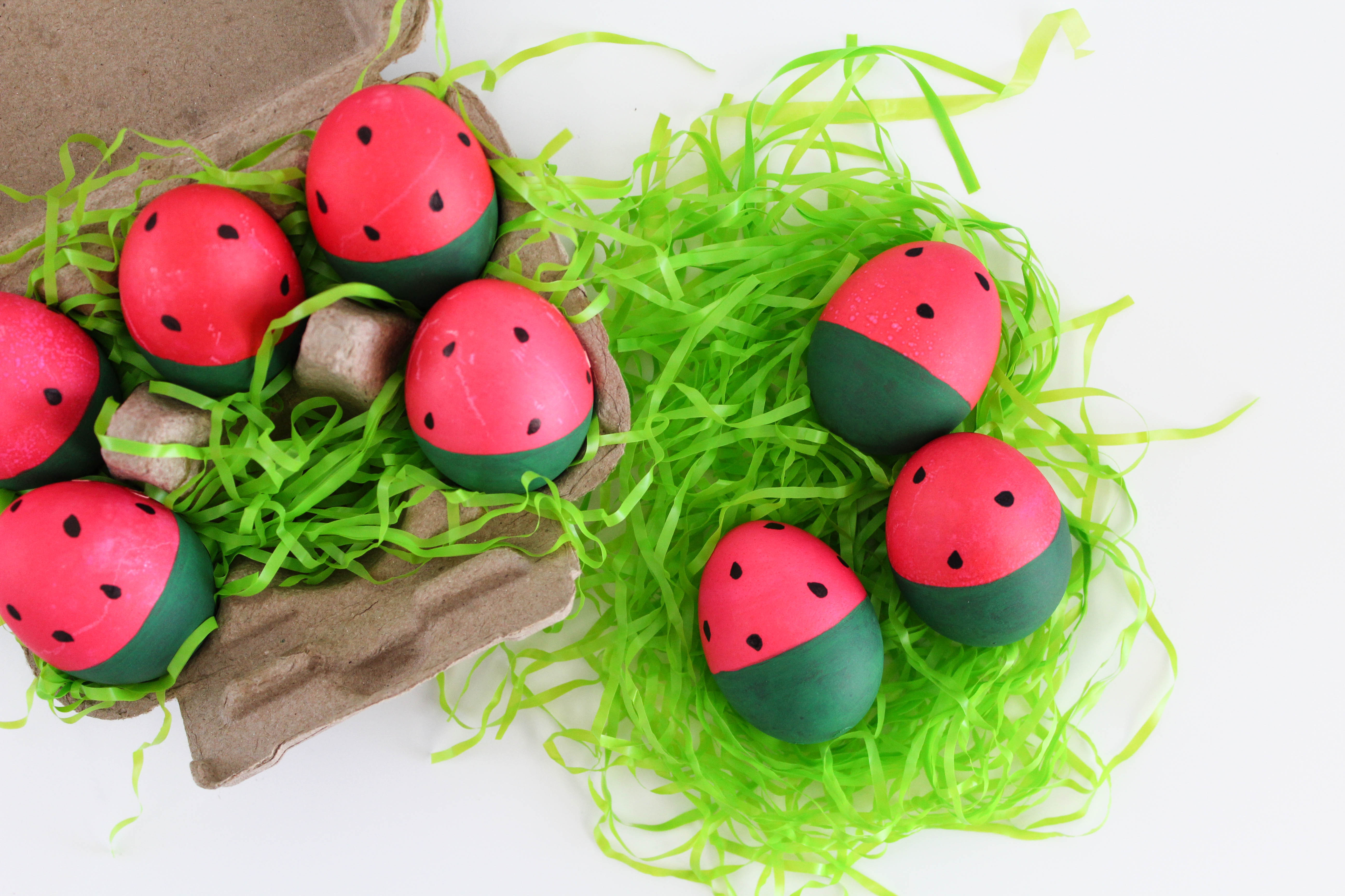 Watermelon Easter Eggs Let S Mingle Blog