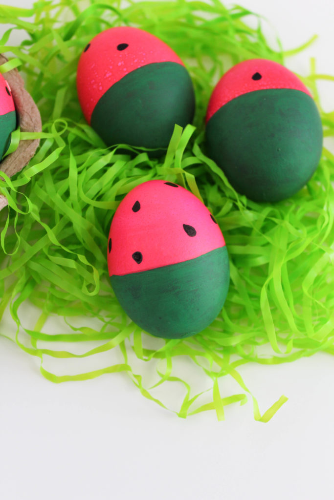 Watermelon Easter Eggs