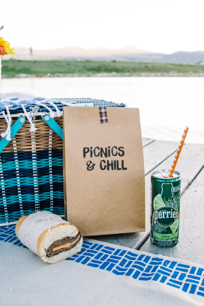 Printable Picnic Lunch Bags