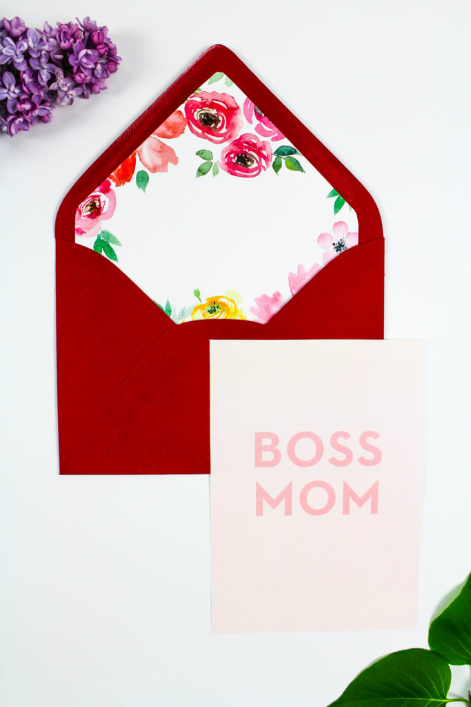 Printable Mother's Day Notecards