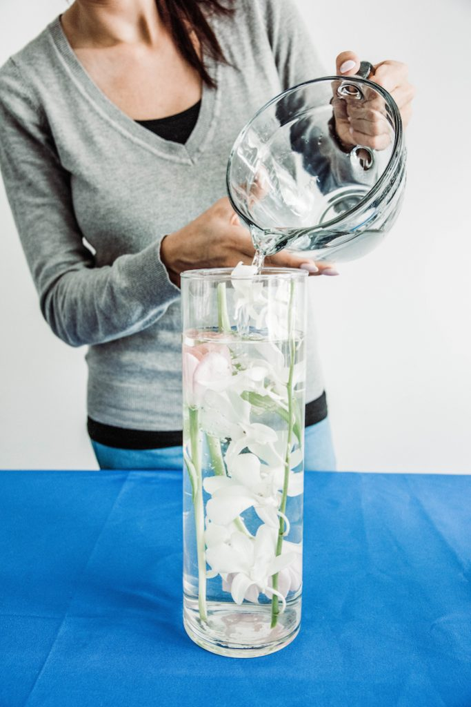DIY Submerged Centerpieces