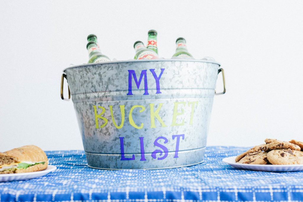 DIY Drink Buckets