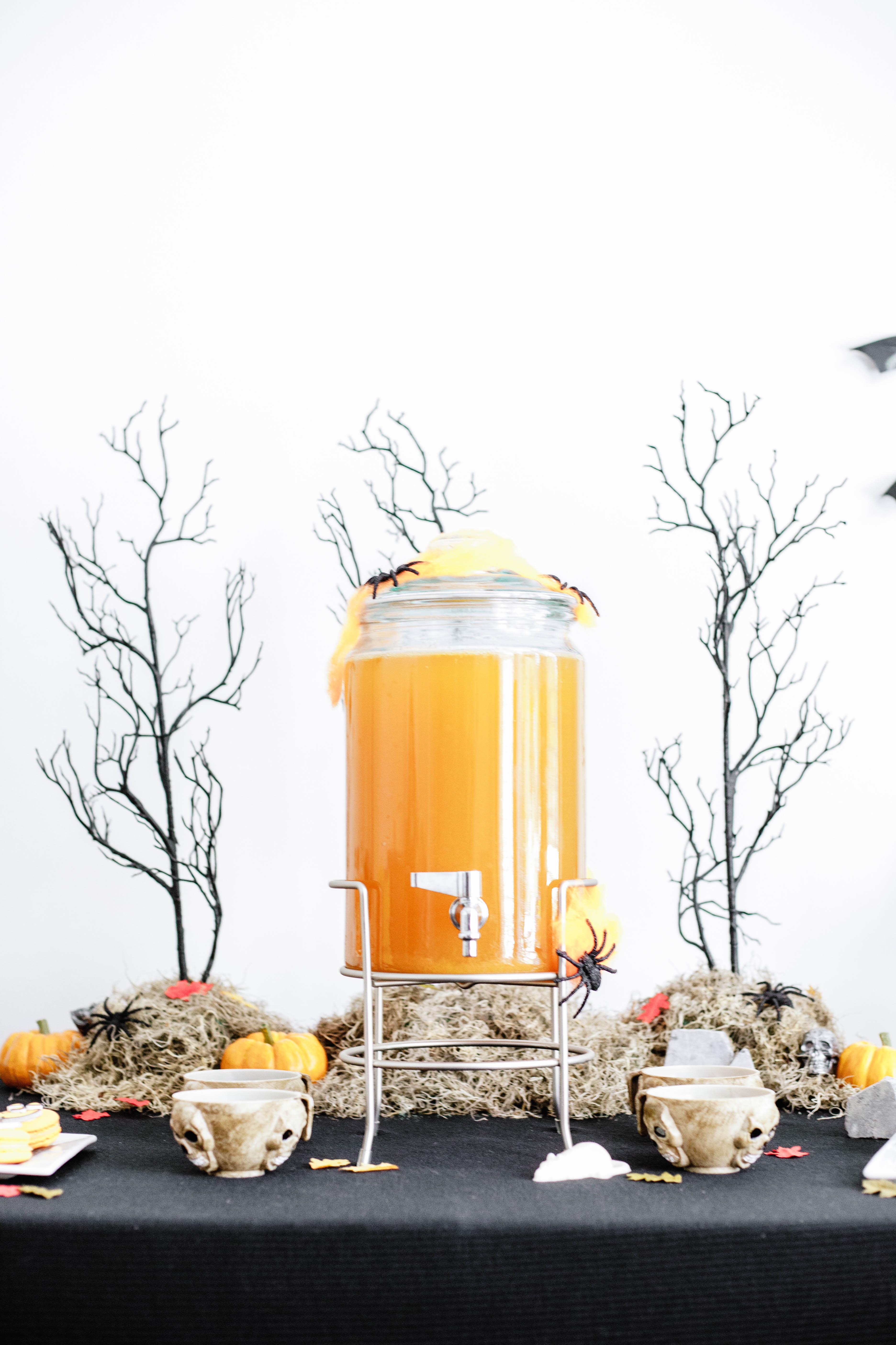 diy halloween dessert table - let's mingle blog