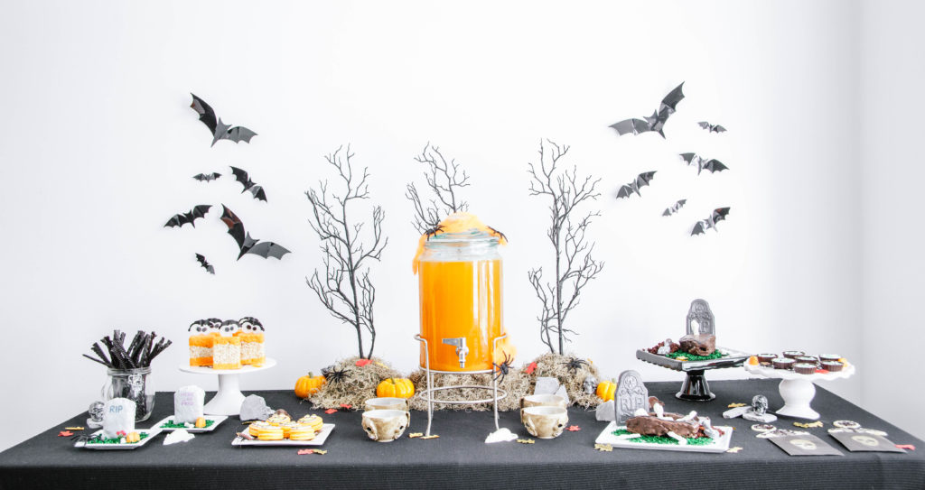 DIY Halloween Dessert Table