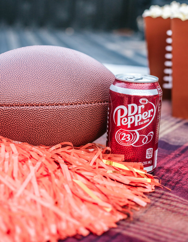 Tailgating with Dr Pepper