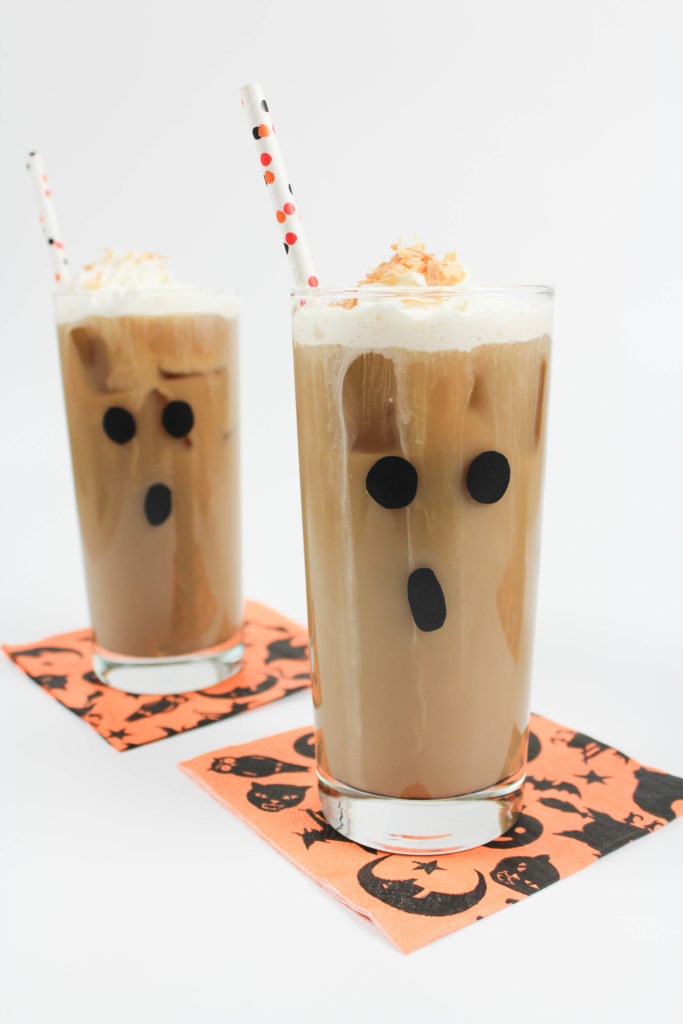 Boozy Coconut Iced Coffee