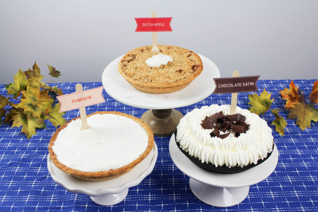 DIY Thanksgiving Pie Bar
