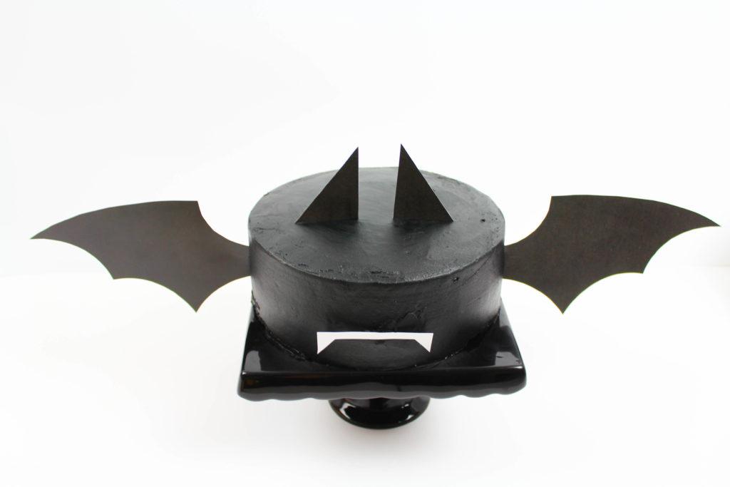 Halloween Bat Cake