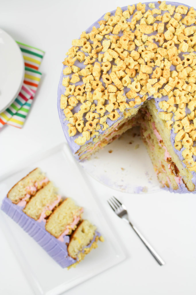 Milk and Cereal Cake