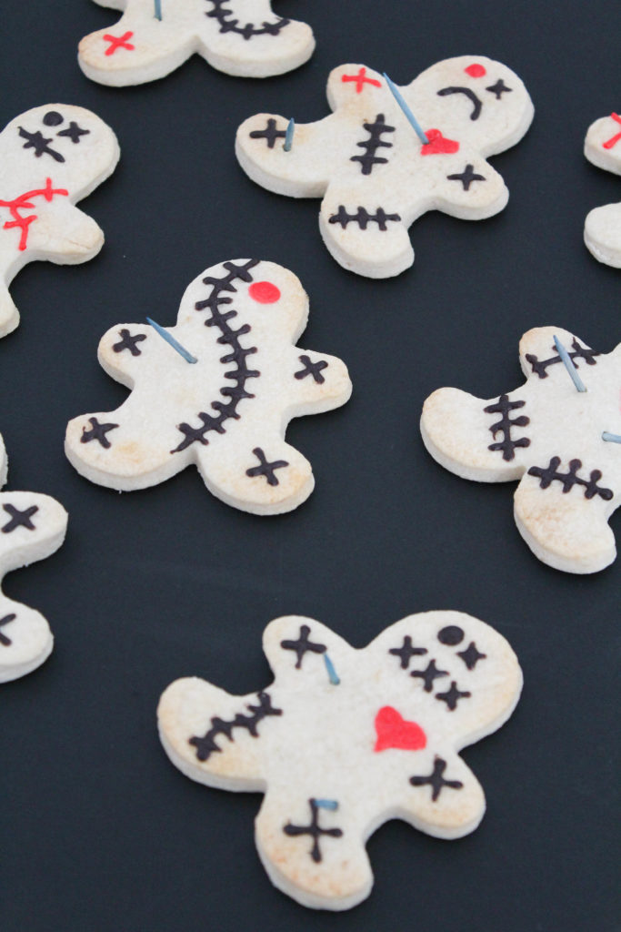 Voodoo Doll Halloween Cookies
