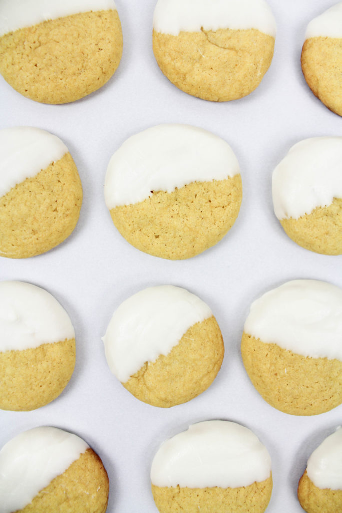 White Chocolate Pumpkin Cookies