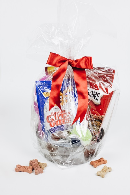 Dog Holiday Gift Basket