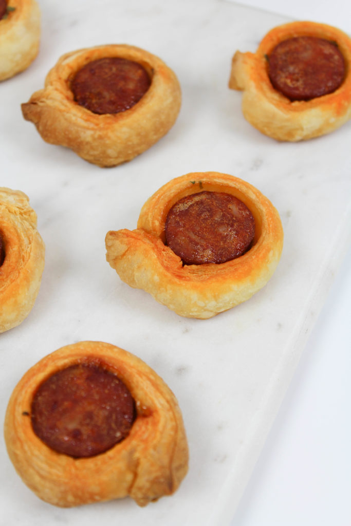 Sausage Puff Pastry Appetizers