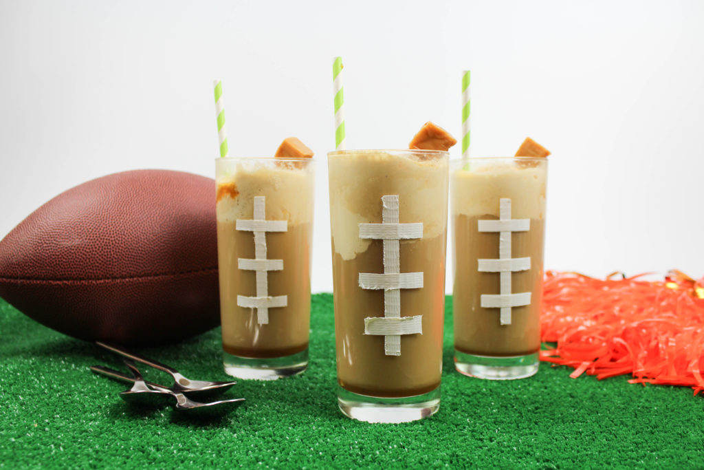 Caramel Whiskey Root Beer Floats