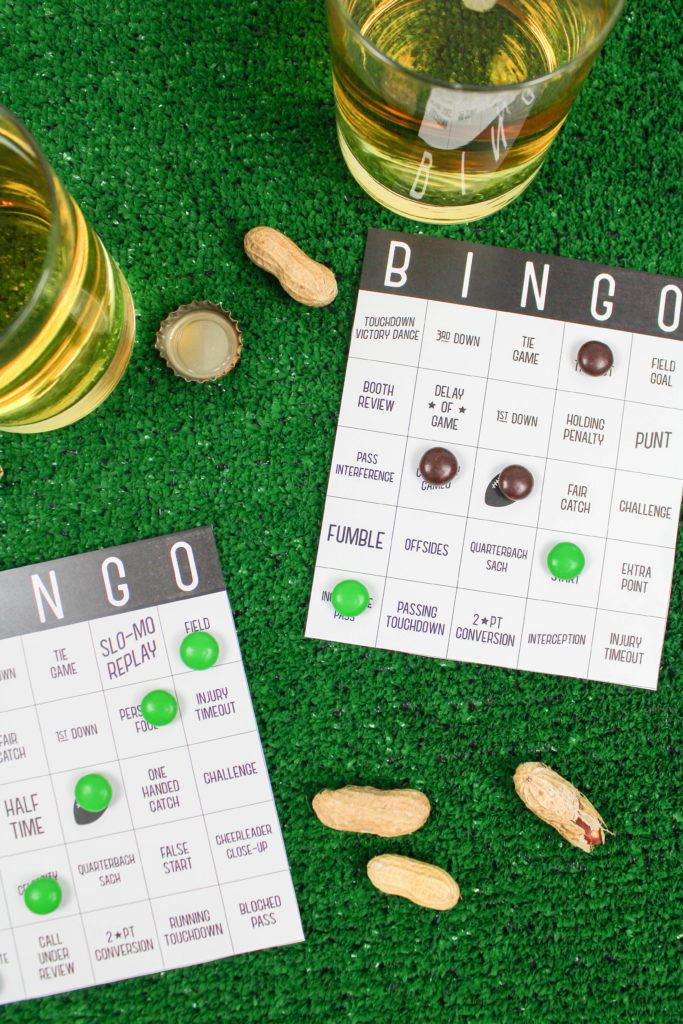 Printable Super Bowl Bingo